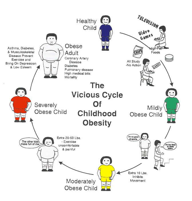 Childhood Obesity Outline Research Paper