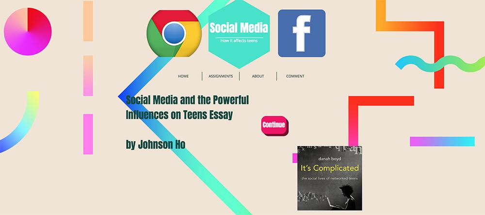 teens and social media essay